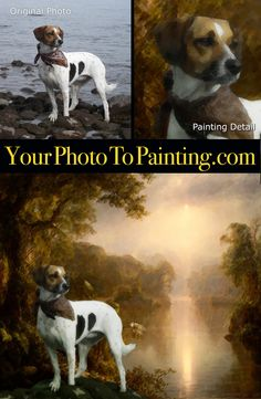 Change your photo into a Romantic period heirloom quality digital painting.