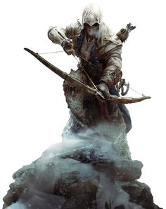 Assassins Creed III - Connor Render 2 by Crussong.deviantart.com