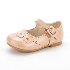 Dream Pairs NINA-99 New Adorable Mary Janes Side Flower Ballerina Flat (Toddler/ Little Girl) NUDE SIZE 8 - http://all-shoes-online.com/dream-pairs/8-m-us-toddler-dream-pairs-angels-mary-jane-bow-flat-20