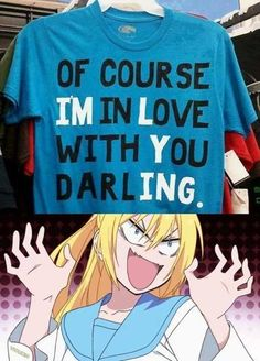 Idk about the anime thing, but I want that shirt c: