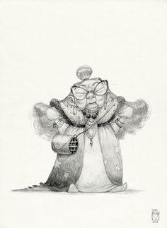 Sketchtober   002 by BladMoran.deviantart.com on @DeviantArt