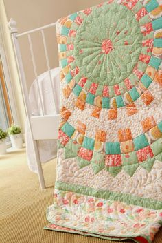 ~ free pattern ~ Sentimentalities Quilt by Bonnie Christine at Going Home to Roost, posted at Quilt Inspiration