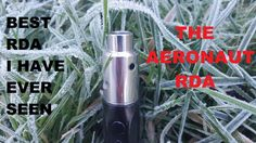 THE AERONAUT, is a leak proof RDA that gives you great clouds and flavor. The Aeronaut is perf. Voss Bottle, Water Bottle, The Incredibles, Amazing, Unique, Shoes, Zapatos, Shoes Outlet, Water Bottles