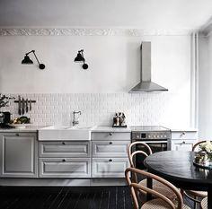 Monday vibes  dove grey kitchens wowzer   #kitchen #grey #vibes #goals #interiors by thelittleinterior