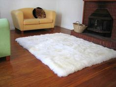Hey, I found this really awesome Etsy listing at http://www.etsy.com/listing/123463805/4-x-5-shaggy-white-faux-fur-sheep-skin