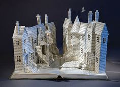 Su Blackwell - book sculpture