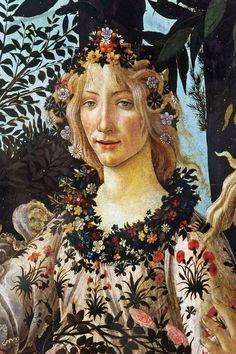 Oberhausen - Gasometer - Der schöne Schein - Primavera (Botticelli) 04 ies - Category:Details of Primavera by Sandro Botticelli - Wikimedia Commons