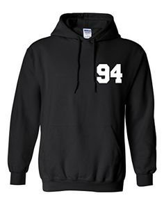 Harry Styles 94 Unisex Mens Womens Hoodie Sweatshirt Jumper Pullover Black XL -- Visit the image link more details.(This is an Amazon affiliate link)