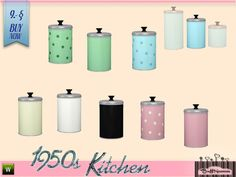 BuffSumm's 1950s Kitchen Can B