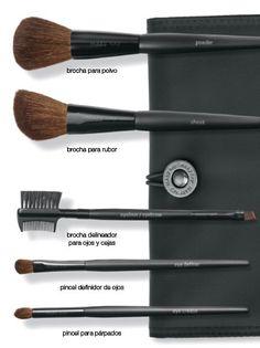 Juego de Brochas Mary kay!! Todo lo que necesitas para que tu maquillaje que hermoso y natural.