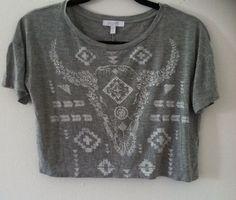 Woman Crop Top Size XS By Delia #dELiA #CropTop #Casual