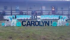 Birthday Yard Signs, Gender Reveal, Graham, Graduation, Birthdays, Neon Signs, Baby Shower, Holiday, Anniversaries