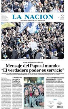 Pope Francis amid the people yesterday.