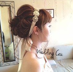 ウェディング髪型