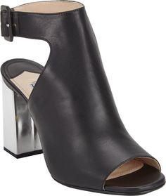 Prada Halter-Strap Peep-Toe Sandals-Black