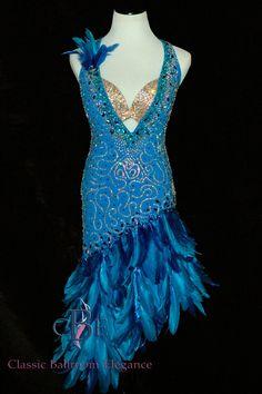 Rhythm Ballroom Dress BRB242 for Rent Exclusively thru Classic Ballroom Elegance at www.cberentals.com