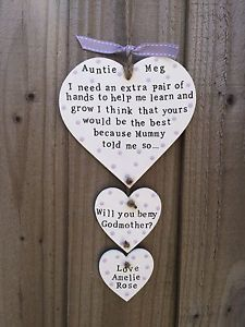 Godparent Christmas Ornaments (SET OF 2), Picture Frame Ornaments ...