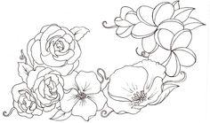Flower Tattoo 9 by ~Metacharis on deviantART