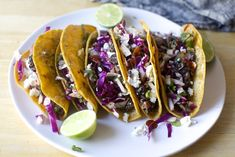 crisp black bean tacos with feta and slaw – smitten kitchen Easy Healthy Dinners, Healthy Dinner Recipes, Mexican Food Recipes, Vegetarian Tacos, Vegetarian Recipes, Crispy Tacos, Sugar Free Baking, Black Bean Tacos, Smitten Kitchen