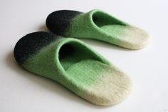緑のスリッパ