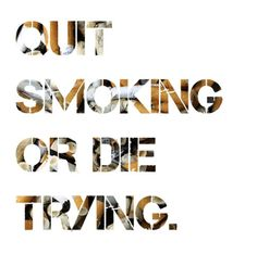 Tobacco smoke contains 250 cancer-causing chemicals, but puffing away can also cause heart disease, stroke, hip fractures and cataracts. #QuitSmoking