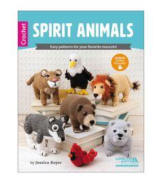 Jessica Boyer Spirit Animals Crochet Book