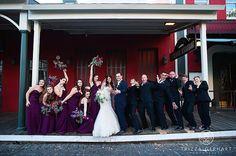 Visual Impact Design | Sacramento Wedding Flowers | The Firehouse Restaurant wedding, Old Sacramento | Trizza Gerhart Photography