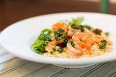 Top 50 Best Grilled Prawn Salad Recipes on the Net: Grilled #Prawn & #Couscous #Salad with #Jalapeno Dressing #recipe by @pamgreer