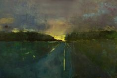 """Andre Pallat; Oil 2014 Painting """"'Dorset Road'"""""""