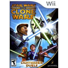 Star Wars The Clone Wars: Lightsaber Duels PRE-OWNED (Nintendo Wii)