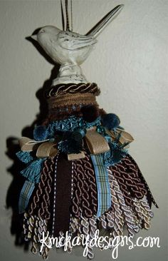 Decorative Tassels-tutorial video and examples