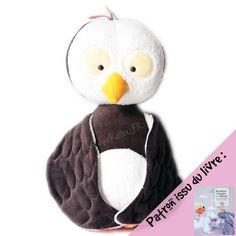 Kit Manée la Chouette cute owl softie , pattern available