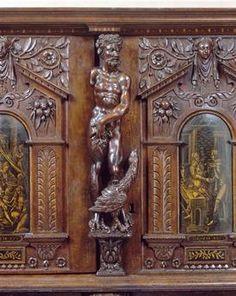 meubles anciens coffre renaissance date 1637 bertrand klein renaissance