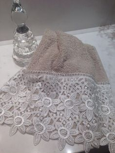 Toalha para lavabo em algodão egípcio
