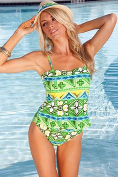 d196f3068ff96 Blue Sky Swimwear Banded Tankini from Our Surfside Collection Sky