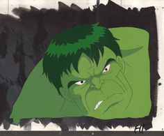 The Incredible Hulk Animated Series Marvel 1996-7 Original production cell 2*