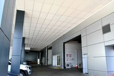 Sunshine Ford Service covered car park, Gold Coast – Birchall & Partners Architects. Architects Ipswich | Architects Brisbane | Architects Gold Coast Brisbane Architects, Car Covers, Gold Coast, Car Parking, Showroom, Sunshine, Ford, Lounge, Airport Lounge