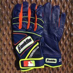 3a0f446cd Jose Altuve s Franklin Powerstrap Batting Gloves. Batting Gloves. What Pros  Wear ...