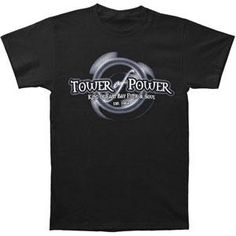Tower Of Power Through The Years T-shirt Tower Of Power, East Bay, Lp, King, Sweatshirts, Mens Tops, T Shirt, Products, Supreme T Shirt