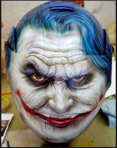 batman joker motorcycle helmet