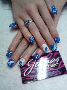 Air force nail art