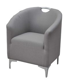 Tod Club Chair - Light Grey | Moe's Home Collection | Home Gallery Stores