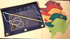 Busy Bag: Fishing for Colors. $5.00, via Etsy. Easy DIY