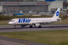 VP-BPP Airbus A321 UTair by Alexander Babashov on 500px