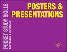 This practical pocket guide offers valuable advice on how to communicate ideas via effective posters and presentations. An asset to university students at all stages, it explores genuine examples of student work to illustrate key learning points and covers timely topics such as electronic posters and video streaming.