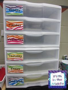 Fifth in the Middle: Optimum Organization Linky - I'm in Heaven!