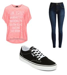 """""""Untitled #138"""" by tia12502 on Polyvore featuring Replace and Vans"""