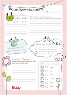 baby sign language chart template Nanny+Schedule+Template+for+Baby A Nanny, Nanny Jobs, Nanny Care, Baby Schedule Printable, Schedule Templates, Planner Template, Babysitter Printable, Babysitter Checklist, Diary Template