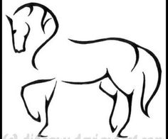 All information about Dressage Horse Outline. Pictures of Dressage Horse Outline and many more. Outline Drawings, Horse Drawings, Art Drawings, Outline Images, Tattoo Drawings, Silhouette Tattoos, Horse Silhouette, Horse Head, Horse Art