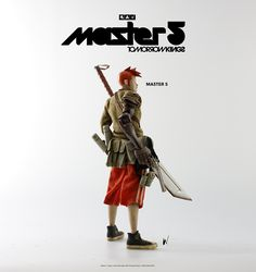 Master 5 available for pre-order now at www.bambalandstore.com – $180USD, price includes shipping via courier worldwide. #threeA #AshleyWood #AshleyWoodArt #WorldOf3A #WO3A #Popbot #TomorrowKings